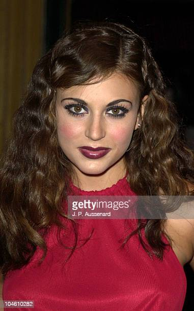 Cerina Vincent during Renee Bardot Kabarett To Benefit DIFFA at El Rey Theatre in Los Angeles California United States