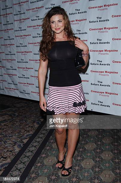 Cerina Vincent during The 30th Annual Saturn Awards Arrivals at Sheraton Universal Hotel in Universal City California United States