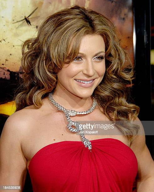 Cerina Vincent during The Reaping Los Angeles Premiere Arrivals at Mann Village Theater in Westwood California United States