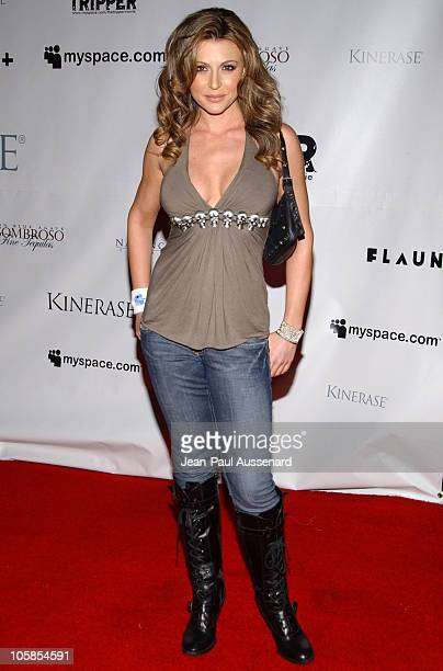 Cerina Vincent during The Tripper Los Angeles Premiere Arrivals at Hollywood Forever Cemetary in Hollywood California United States