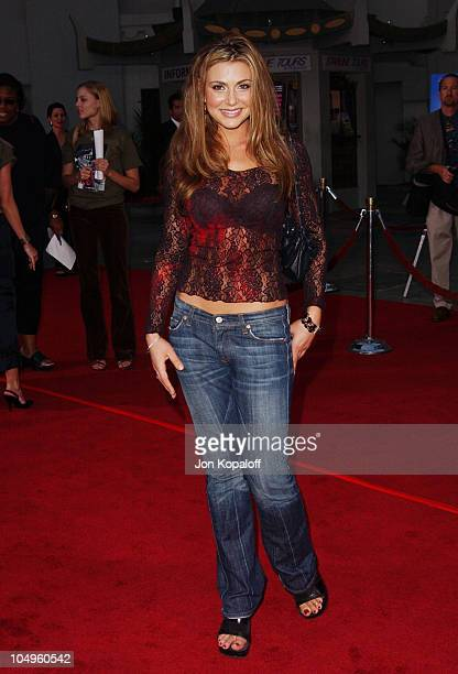 Cerina Vincent during Wonderland Hollywood Premiere at Grauman's Chinese Theater in Hollywood California United States