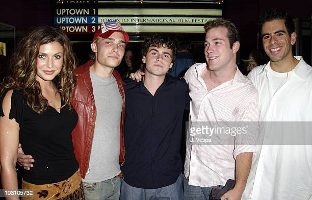 Cerina Vincent Joey Kern Rider Strong James DeBello and Eli Roth
