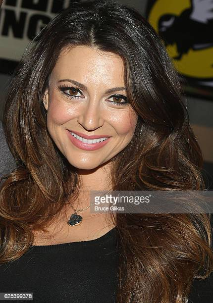 Cerina Vincent promotes Disney's Stuck in The Middle as she visits Buffalo Wild Wings Times Square on November 23 2016 in New York City