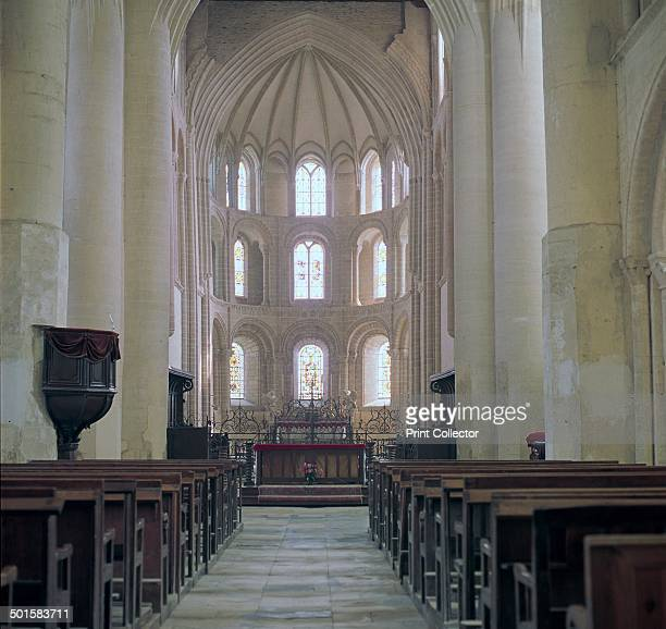 CeriseylaForet in Normandy a Romanesque AbbeyChurch 11th century