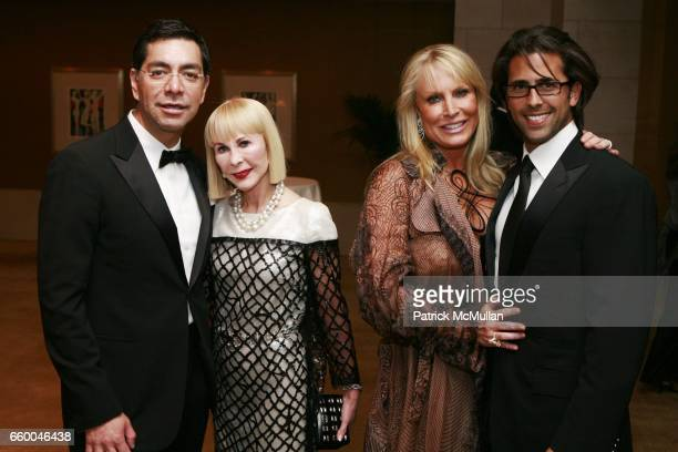 Ceron Diane Farb Suzanne Saperstein and Christopher Roselli attend American Friends of The Louvre Honor IM PEI And The 20th Anniversary of The...