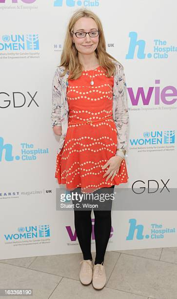 Cerrie Burnell attends the annual WIE Symposium at The Hospital Club on March 8 2013 in London England