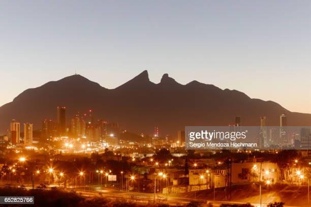 Cerro de la Silla - or Saddle Hill - Monterrey, Mexico