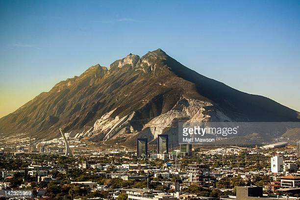 cerro del topo chico monterrey mexico - monterrey stock pictures, royalty-free photos & images