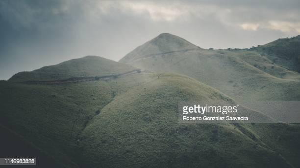 cerro pelado mountain - pelado stock pictures, royalty-free photos & images