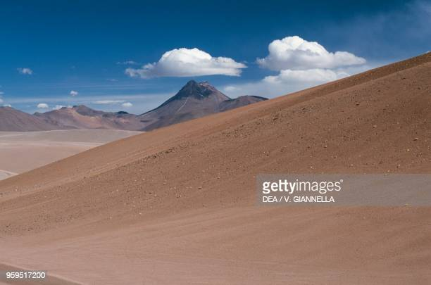 Cerro Pili or Acamarachi seen from La Pacana Pass Chile