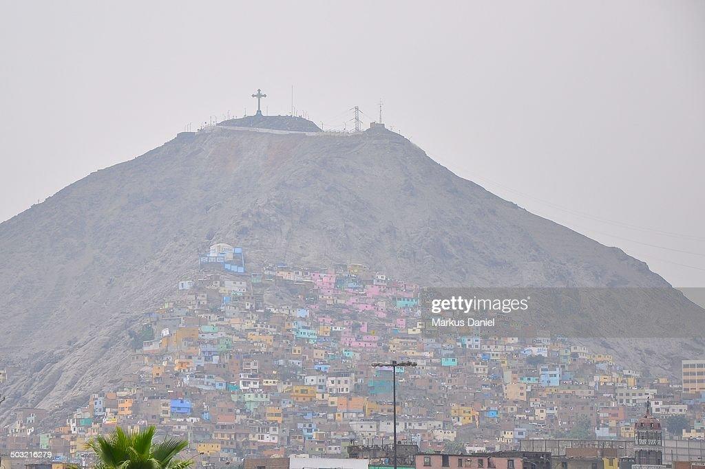 Cerro San Cristobal in Lima, Peru : Stock Photo