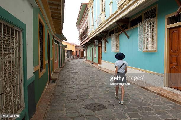 cerro santa ana district - guayaquil fotografías e imágenes de stock