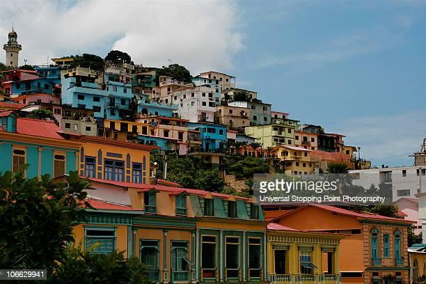 cerro santa anna (hill) - guayaquil fotografías e imágenes de stock