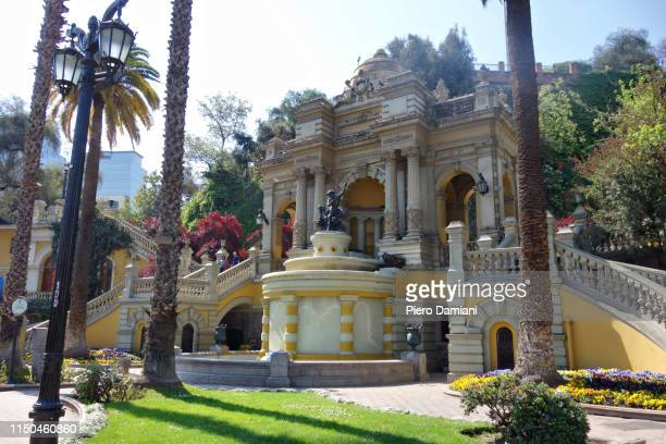 cerro santa lucia - santiago chile stock pictures, royalty-free photos & images