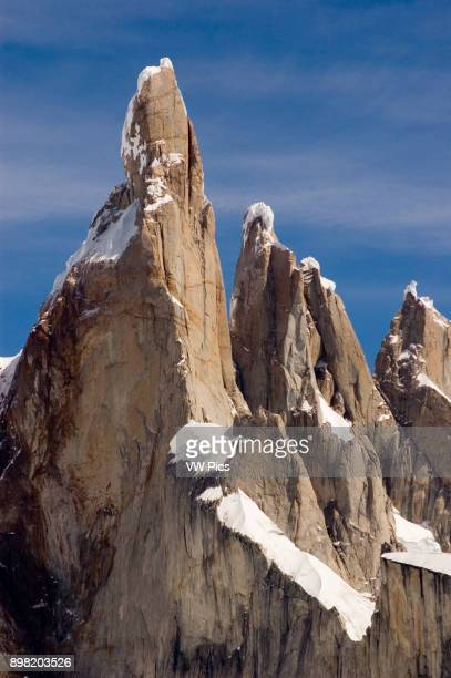 Cerro Torre is one of the hardest mountains of the world to climb Strong winds and ice plates falling like razors well deserves respect to those who...