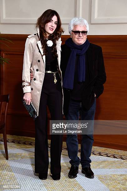 Cerrone and his wife Jill Cerrone attend the Chanel show as part of the Paris Fashion Week Womenswear Fall/Winter 2015/2016 on March 10 2015 in Paris...
