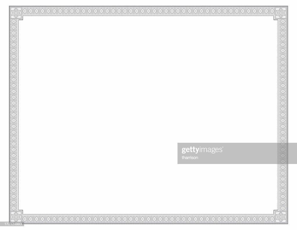 Certificate Diamond Theme : Stock Photo