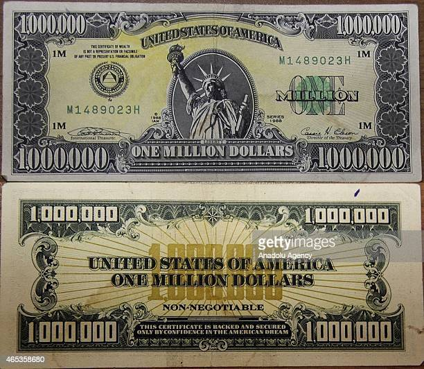 one million dollar bill stock photos and pictures | getty images