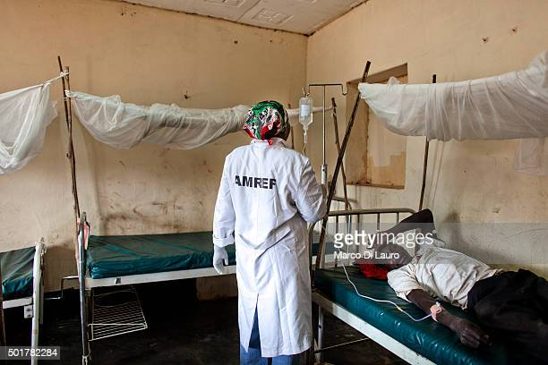 SUDAN FEBRUARY Certified Nurse Esther Munda 42yearsold treats a patient at the AMREF managed PHCC on February 10 2011 in Tali Terekeka County Central...