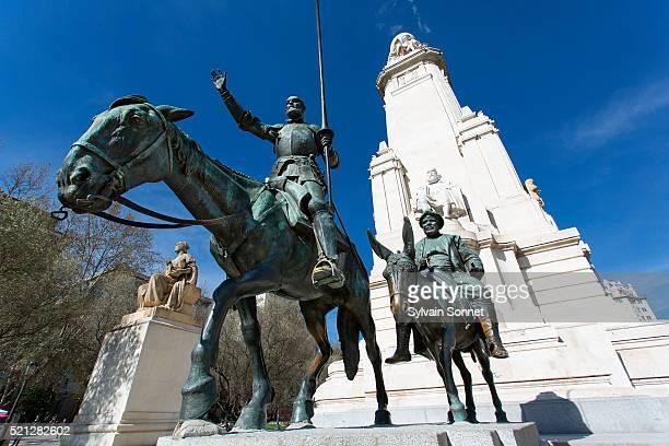 Cervantes Monument, Plaza de Espana, Madrid