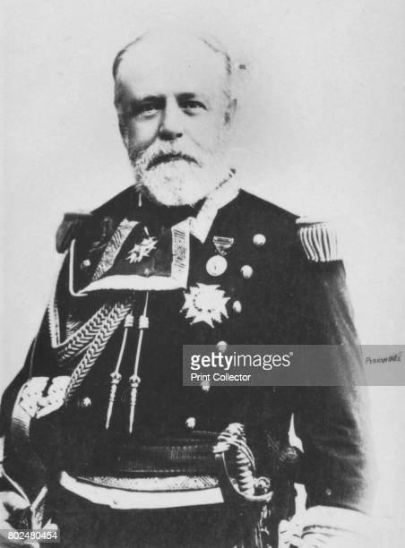 Cervera' c1893 Pascual Cervera y Topete Admiral of the Spanish Caribbean Squadron during the SpanishAmerican War From the 2e collection [Felix Potin...