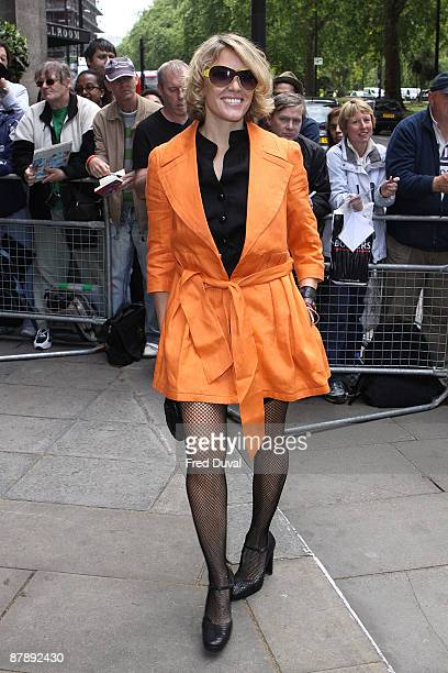 Cerys Matthews attends the Ivor Novello Awards at Grosvenor House on May 21 2009 in London England