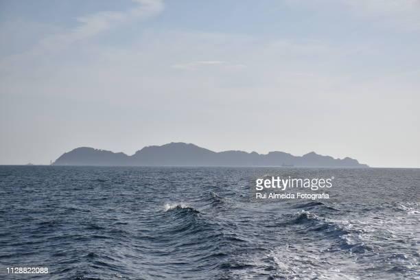 Cíes Island, amazing national marine-terrestrial park a beach paradise