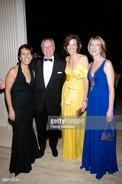 Cesaltine Gregorio Tony Harding Melissa Meeschaert and Jennifer Banks Oughourlian attend LA VIE EN VERT GALA 2008 Lycee Francais de New York at...