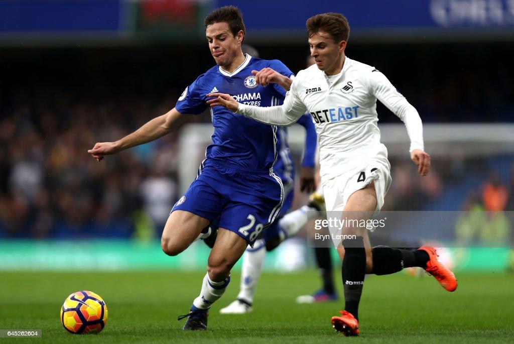 Chelsea v Swansea City - Premier League : News Photo