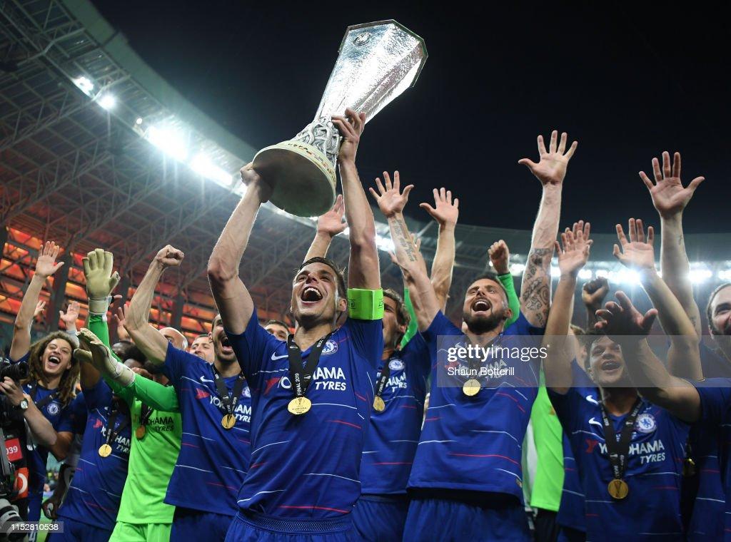 Chelsea v Arsenal - UEFA Europa League Final : News Photo