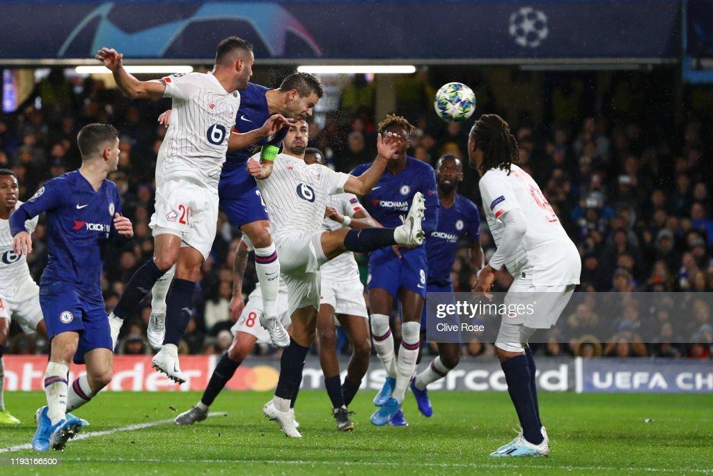 Chelsea FC v Lille OSC: Group H - UEFA Champions League : ニュース写真