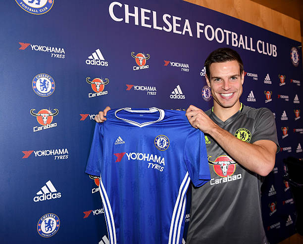 best website 25218 87370 Chelsea fans sing the praises of Cesar Azpilicueta on the ...