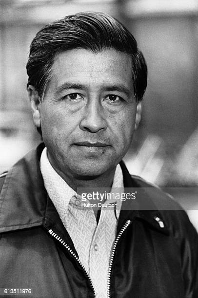 Cesar Chavez the leader of 200000 American farmworkers