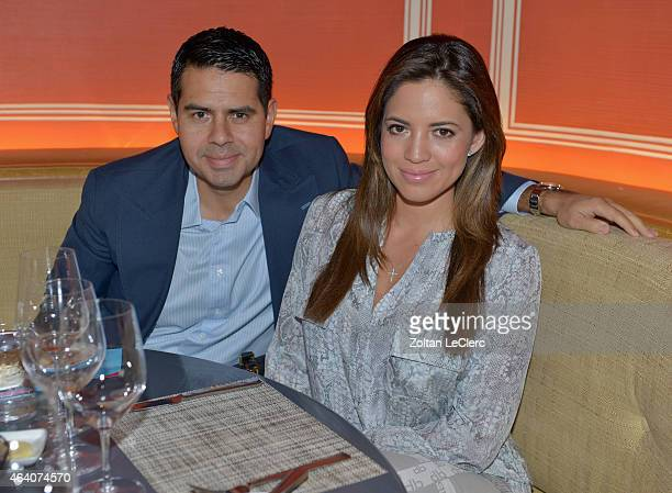 Cesar Conde and Pamela Silva Conde attend the Vintage South of France Lunch hosted by Daniel Boulud during the 2015 Food Network Cooking Channel...
