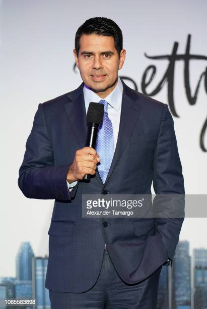 Cesar Conde is seen at the Betty En NY cast reveal press conference at Telemundo Center on November 26 2018 in Miami Florida