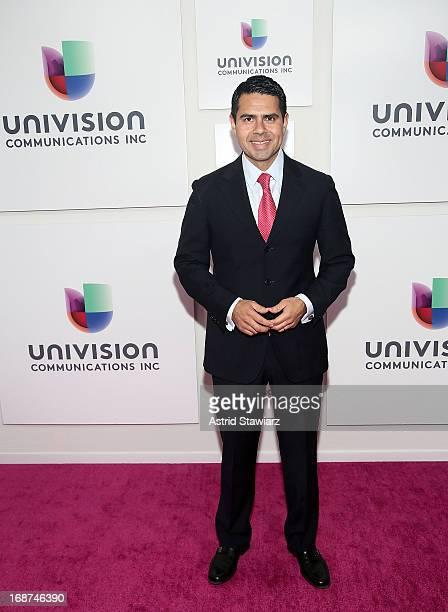 Cesar Conde President of the Univision Networks at Univision Communications attends the 2013 Univision Upfront Presentation at Espace on May 14 2013...