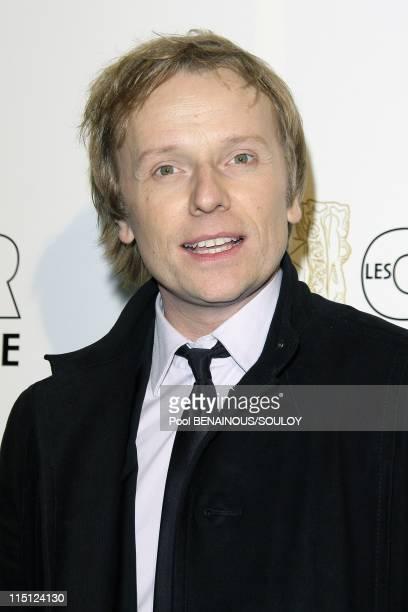 Cesar Film Awards 2009 Fouquet's in Paris France on February 27 2009 Laurent stocker