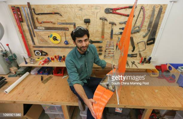 """Cesar Harada , founder of MakerBay, with """"Protei"""" é?? a revolutionary shape shifting sailing robot to explore and protect the ocean with Open Source..."""