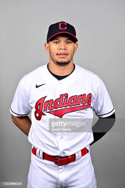 Cesar Hernandez of the Cleveland Indians poses during Photo Day on Wednesday February 19 2020 at Goodyear Ballpark in Goodyear Arizona