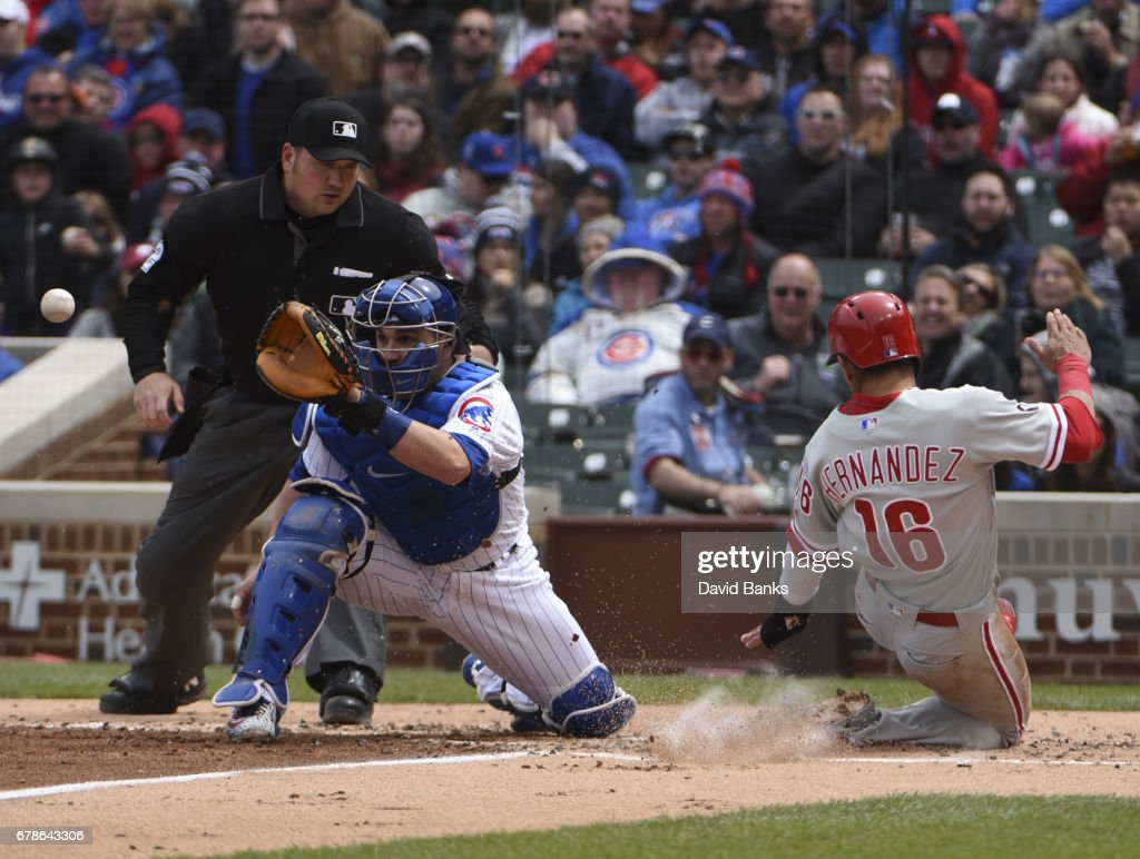 Philadelphia Phillies v Chicago Cubs