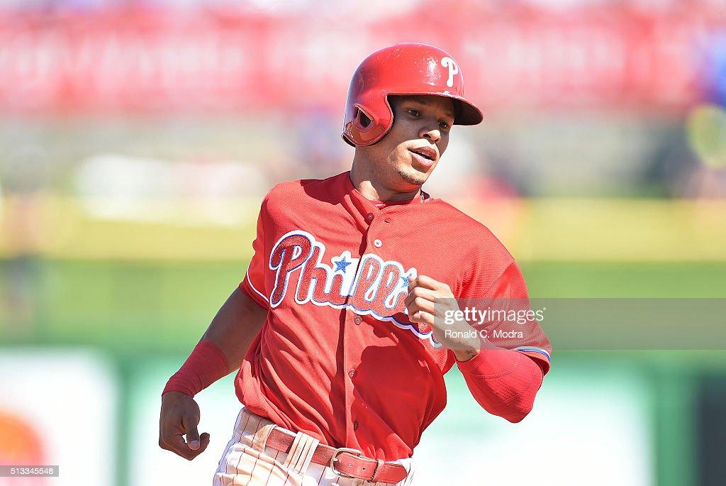 Cesar Hernandez Philadelphia Phillies Spring Training Baseball Player Jersey