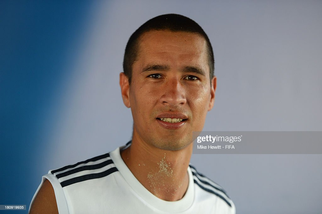Cesar Leguizamon of Argentina poses for a portrait at the To'ata Stadium on September 17, 2013 in Papeete, French Polynesia.