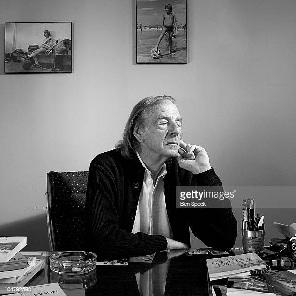 Cesar Luis Menotti known as El Flaco at his office in Buenos Aires Argentina Menotti won the FIFA Football World Cup as Argentina's national coach in...