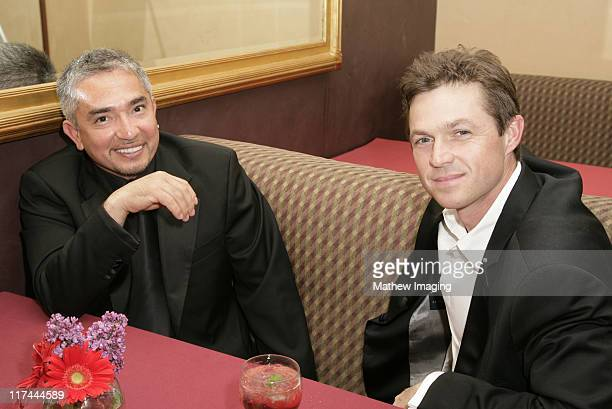 Cesar Millan and Eric Close during The Academy of Television Arts & Sciences Foundation Presents the 28th Annual College Television Awards - VIP...