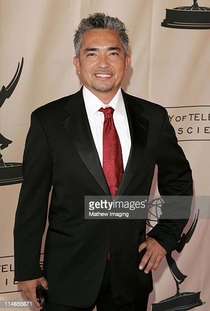 Cesar Millan during 57th Annual Los Angeles Area Emmy Awards Arrivals Reception at Leonard H Goldenson Theatre in North Hollywood California United...