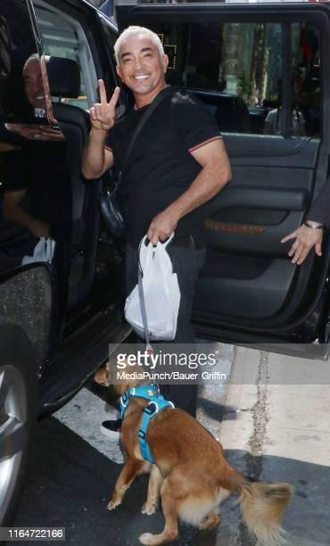 Cesar Millan is seen on August 29, 2019 in New York City.