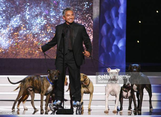 Cesar Millan, presenter during 58th Annual Creative Arts Emmy Awards - Show at The Shrine Auditorium in Los Angeles, California, United States.