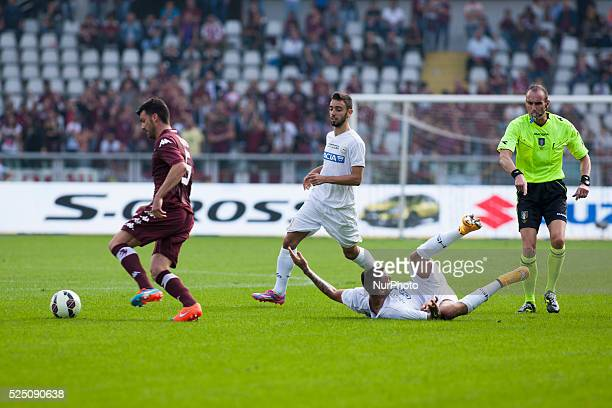 Cesare Bovo during the Serie A match between Torino FC and Udinese at Olimpic Stafium on october 19 2014 in Torino Italy