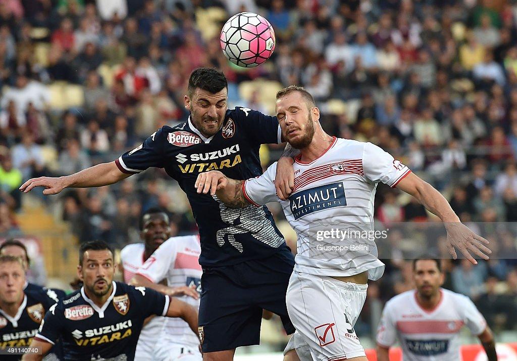 Carpi FC v Torino FC - Serie A : Nieuwsfoto's