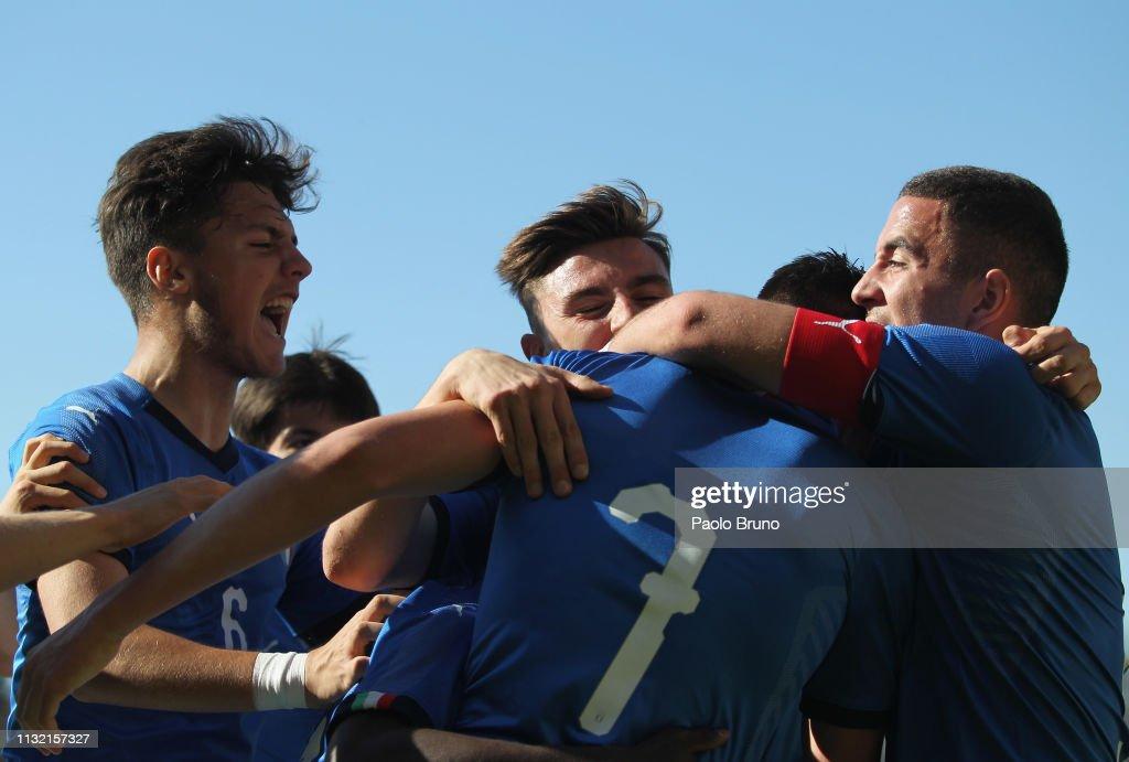 ITA: Italy U16 v Germany U16 - International Friendly